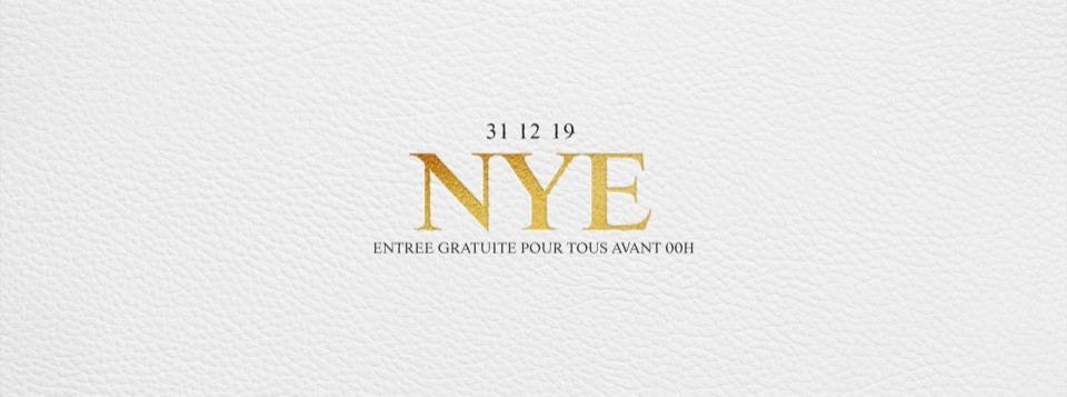 K CLUB NEW YEAR'S EVE - ENTREE GRATUITE AVANT 00:00